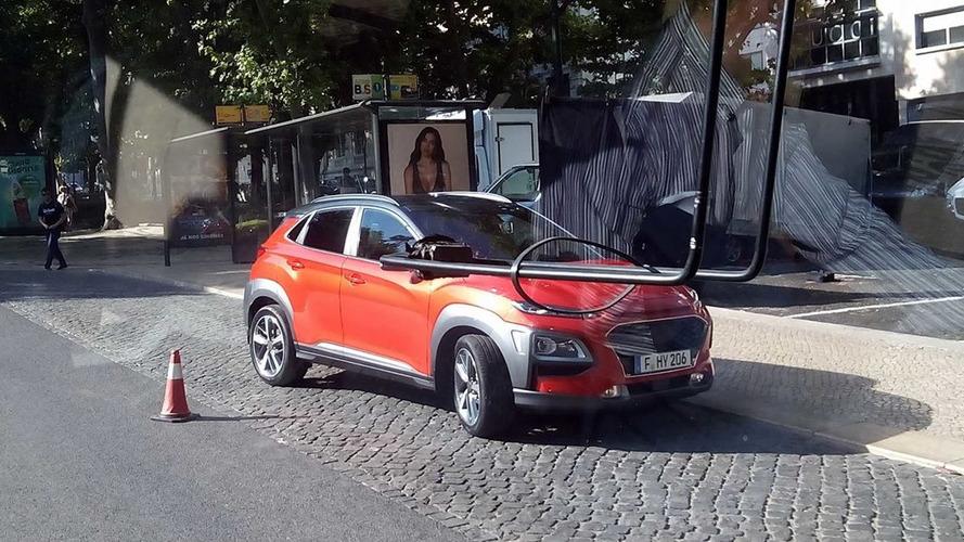 Hyundai Kona Small SUV Spied Undisguised