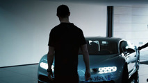 Cristiano Ronaldo testing Bugatti Chiron