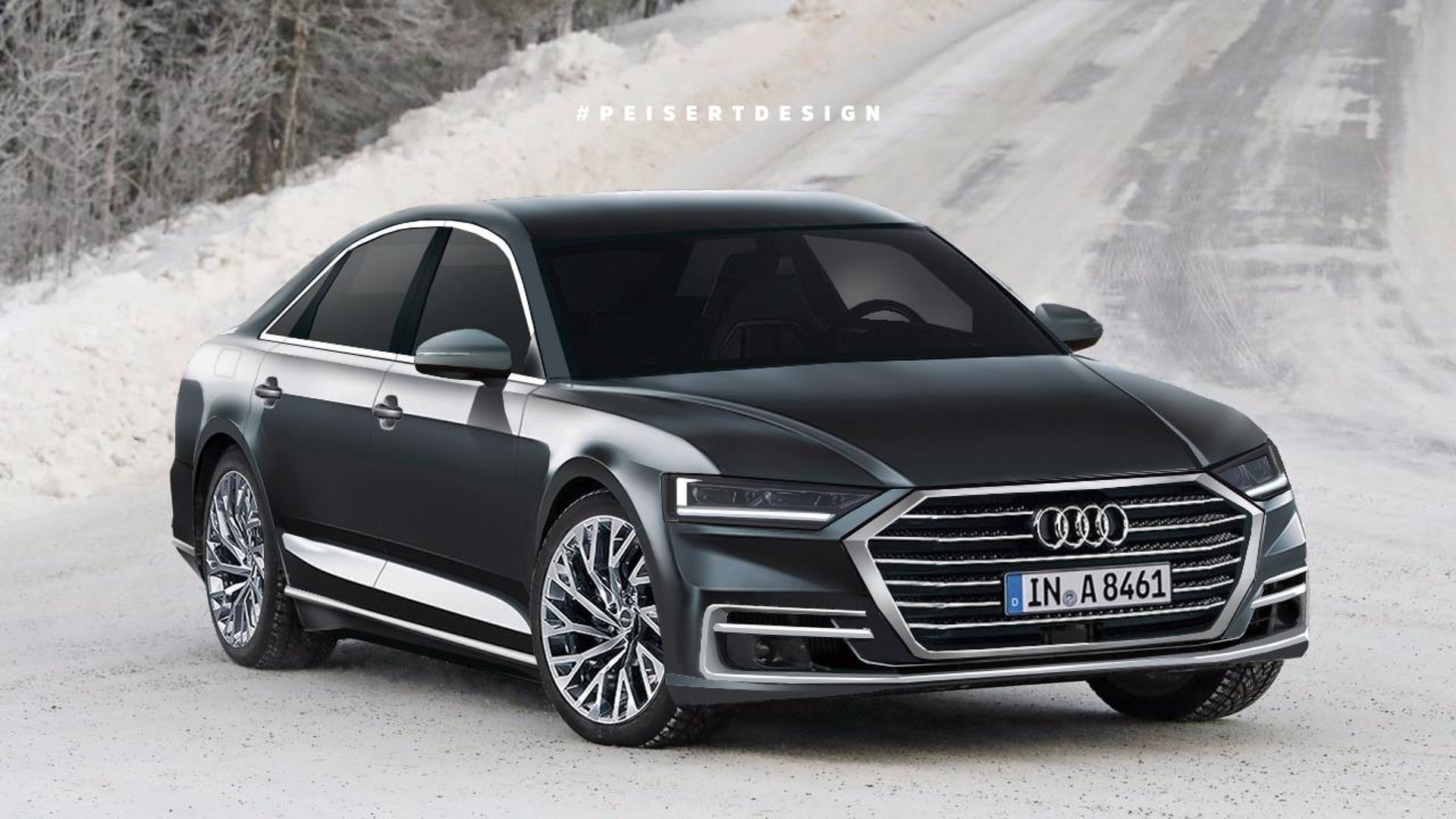 2018 Audi A8 to Feature 48Volt Hybrid System