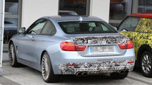 2014 Alpina B4 Biturbo Coupe spied at the Nürburgring
