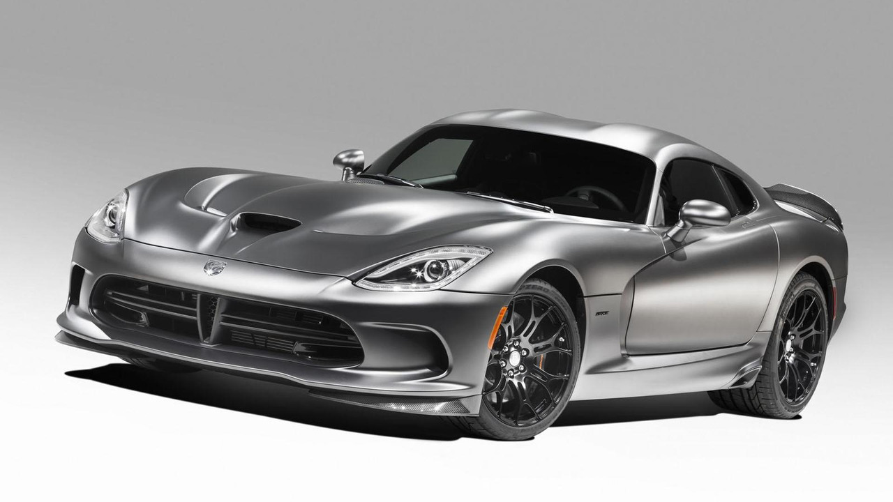 SRT Viper Anodized Carbon Time Attack special edition