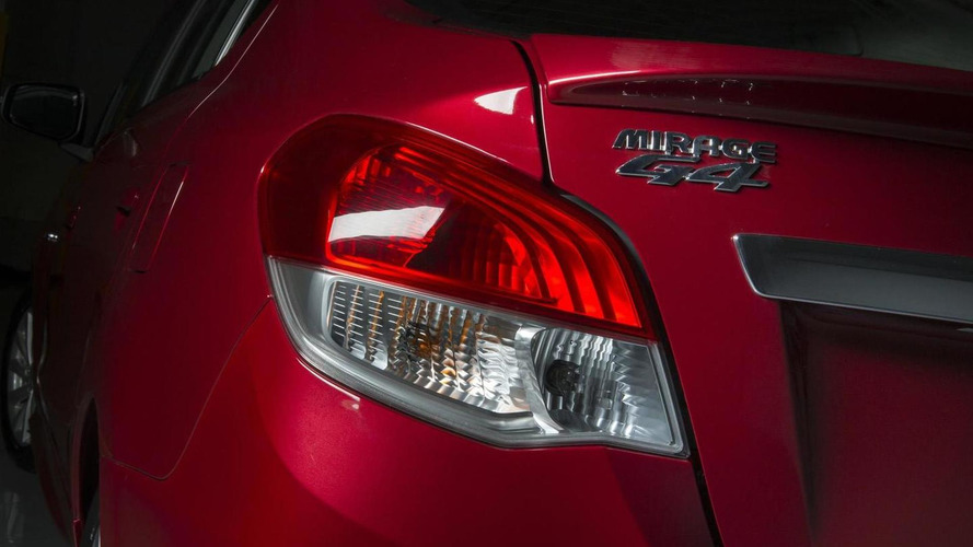 2014 Mitsubishi Mirage G4 sedan teased ahead of Montreal Auto Show reveal