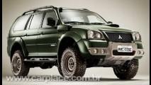 Mitsubishi lança Pajero Dakar - Modelo será produzido em série limitada