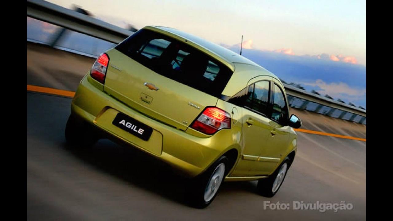 Preços divulgados: Novo Agile 2010 LT chega por R$ 37.708 e Agile LTZ por R$ 39.601