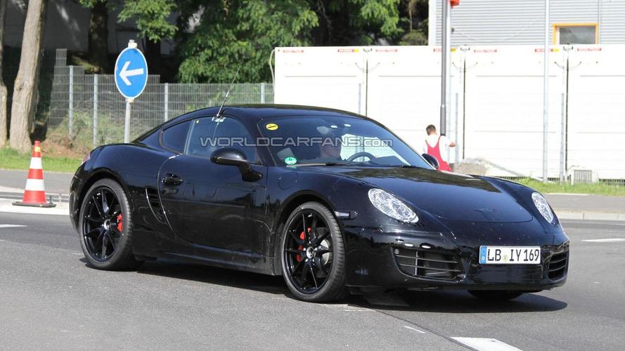2013 Porsche Cayman spied on video