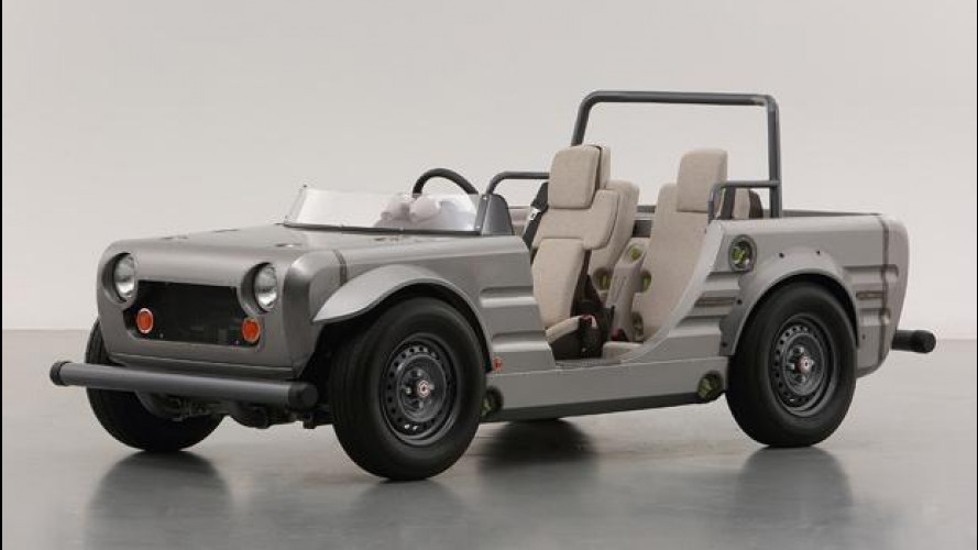 Toyota Camatte Hajime Vision, l'auto trasformabile