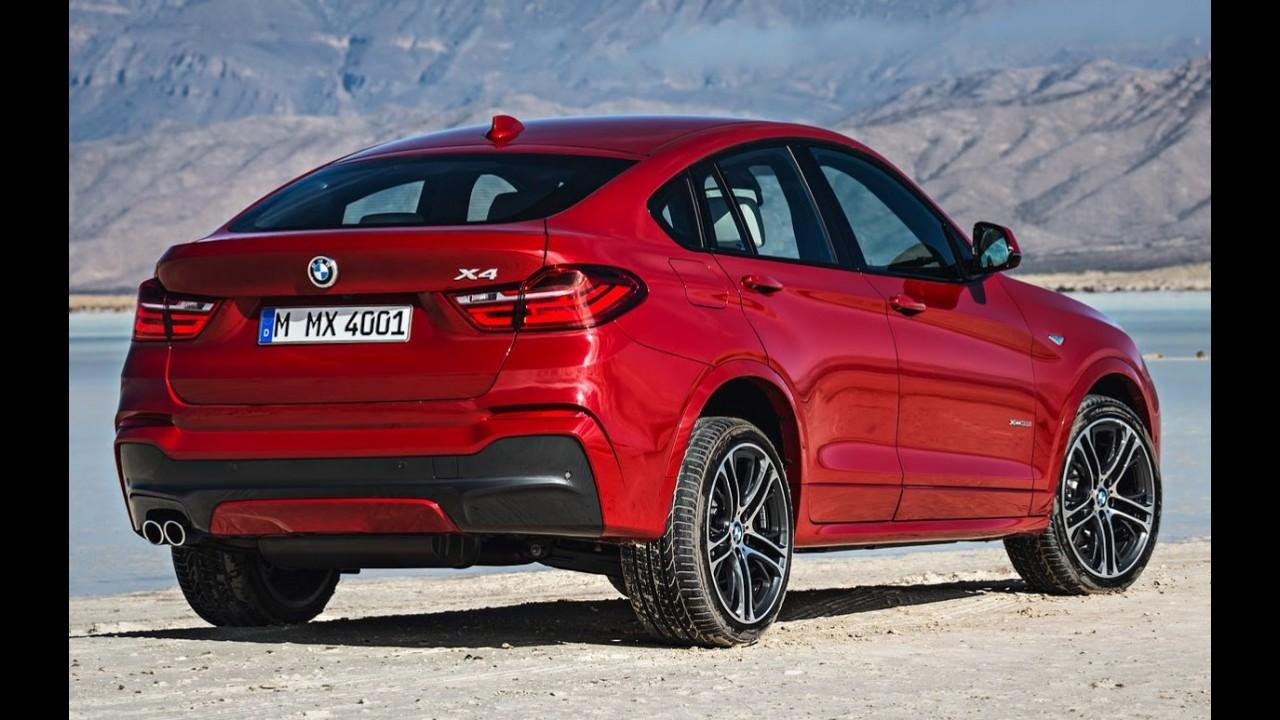 BMW revela detalhes do cross-cupê X4; estreia acontece em abril em Nova York