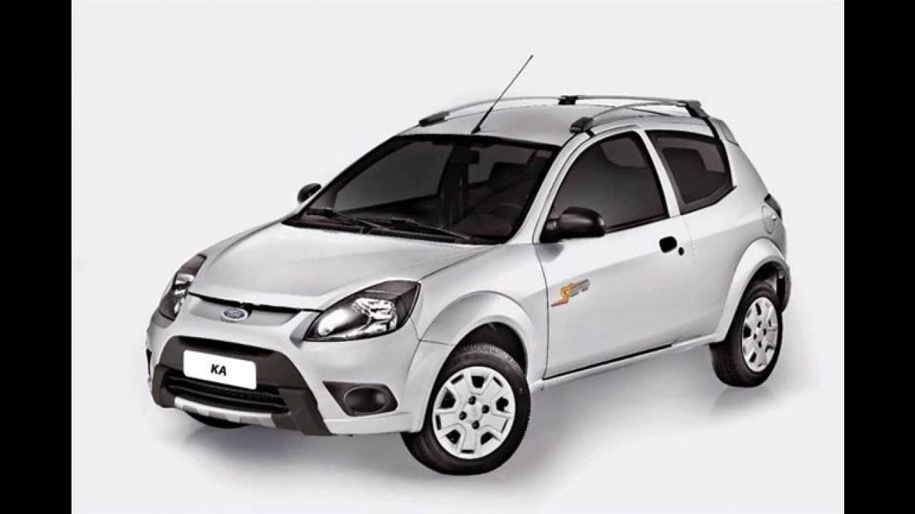 Ford KA 1.0 ganha opções de kit de personalização ST e Storm
