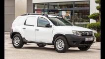 Dacia retoca visual da versão comercial do Duster na Europa