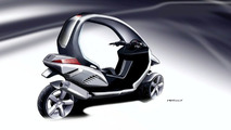 Peugeot HYmotion3 Concept Debut in Paris