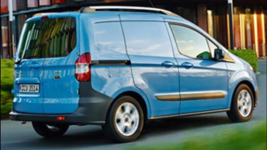 Ford nel segmento dei mini van con il Transit Courier