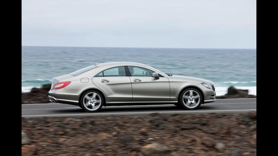 Nuova Mercedes CLS, dinamismo