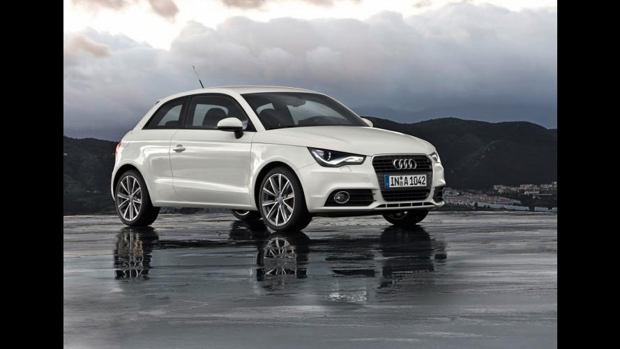 Audi A1 contro MINI, Citroen e Alfa