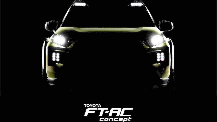 Toyota 30 Kasım'da ortaya çıkacak olan FT-AC konseptini gösterdi