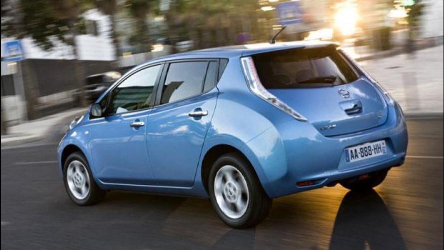 Nissan Leaf partecipa all'Earth Day 2012 di New York