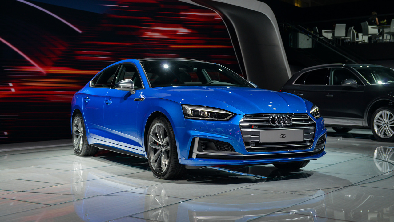 2018 audi s5 sportback debuts in l a ahead of launch. Black Bedroom Furniture Sets. Home Design Ideas