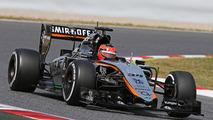 Esteban Ocon, Sahara Force India F1 VJM08