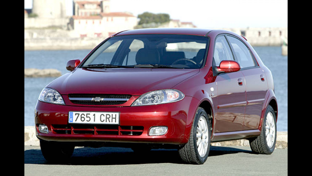 Chevrolet Lacetti 1.4 LPG SE (Autogas)