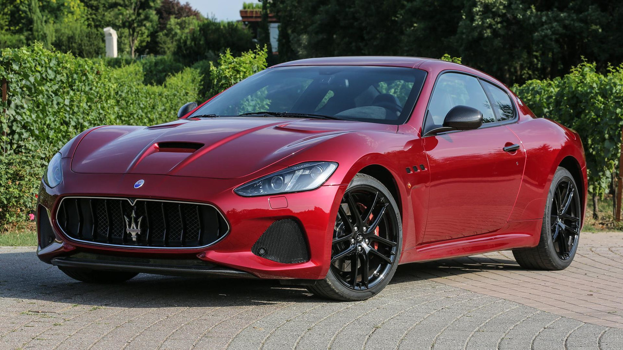 2018 maserati granturismo first drive resounding revival. Black Bedroom Furniture Sets. Home Design Ideas