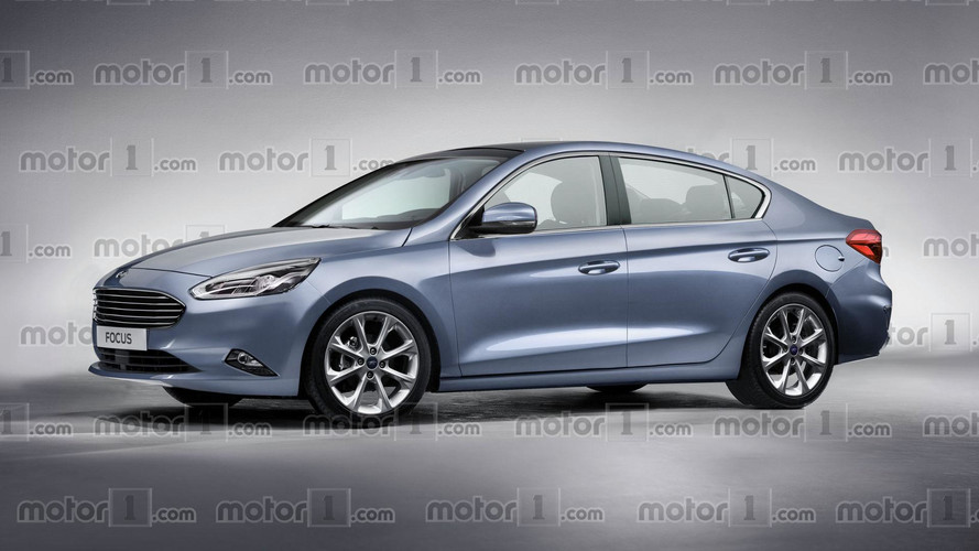 2019 Ford Focus Sedan Render Proposes More Upscale Design