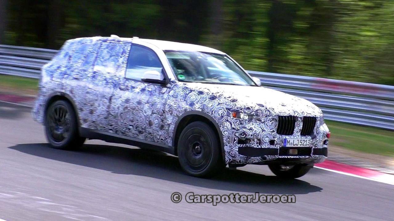 BMW X7 Spy Video