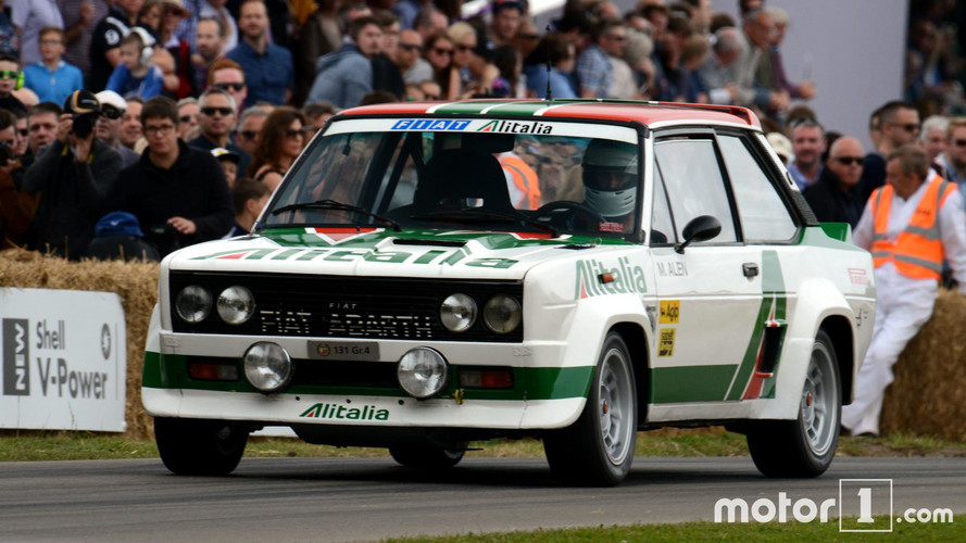 We Drove A Rally Car Up Goodwood's Hill