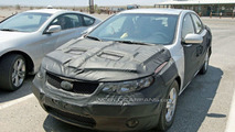 Kia Forte/Spectra Sedan Spy Photos