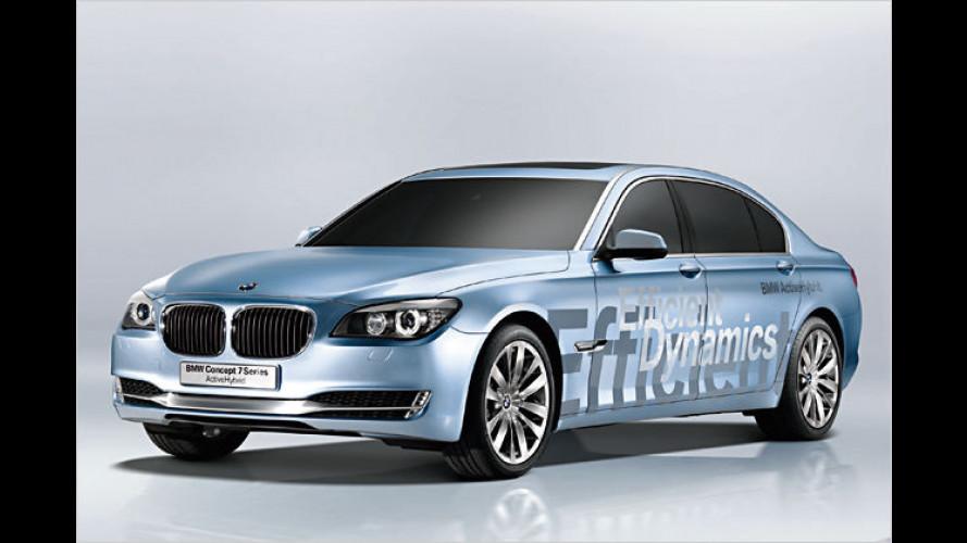 Mildhybrid auf Basis des BMW 7er auf dem Pariser Autosalon