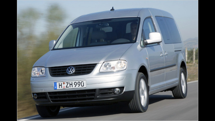 VW Caddy Maxi Life EcoFuel: Maximale Reichweite mit Gas