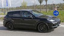 2018 Porsche Cayenne Spy Photos