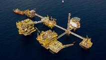 Shell oil rig