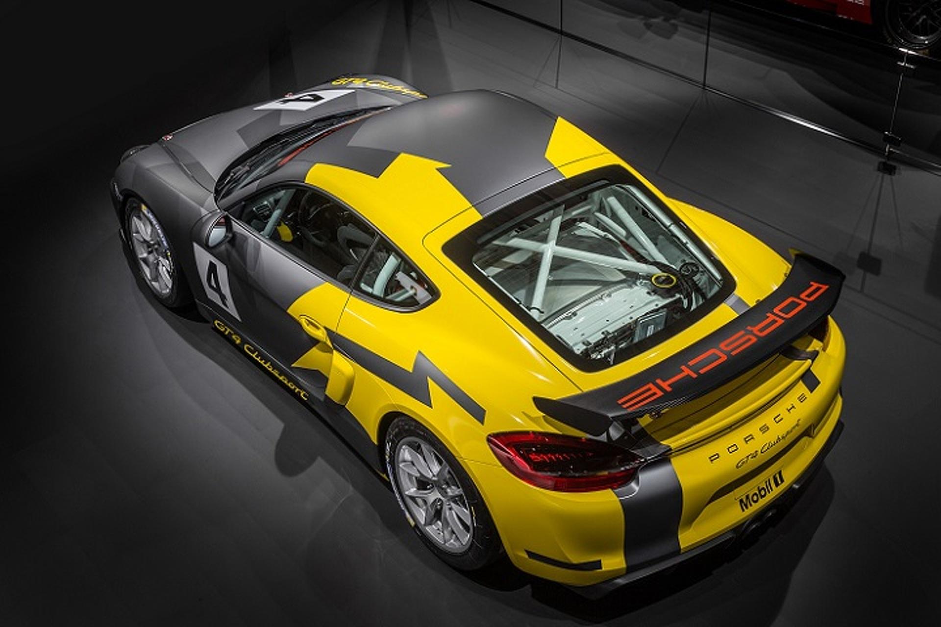 Porsche Cayman GT4 Clubsport Lets You Race on a Budget