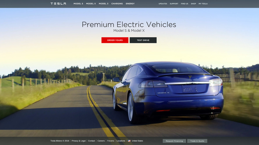 Tesla.com web address finally takes over from TeslaMotors.com
