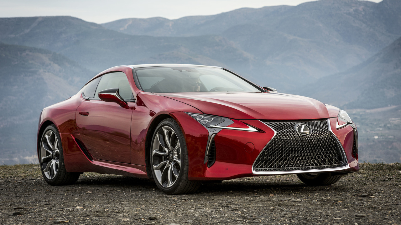 Lexus LC500 Video