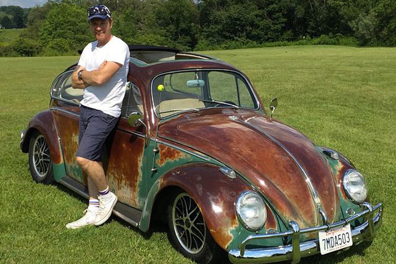 Ewan McGregor is Selling his Volkswagen Beetle on eBay