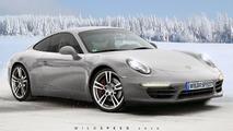 2011 Porsche 911 artist rendering based on WCF spy photo - 717 - 24.03.2010