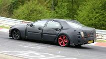 2010 Jaguar XJ prototype spy photo at Nurburgring