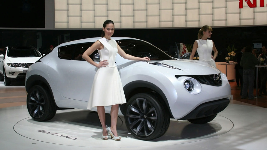 Nissan Qazana Crossover Design Concept Revealed in Geneva