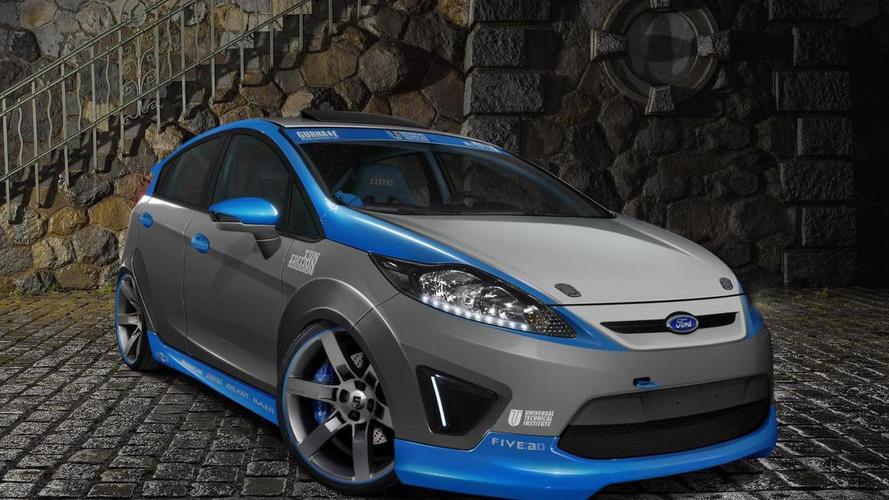 Eight Ford Fiestas bound for SEMA