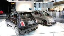 Fiat 500 BEV live at 2010 Detroit Auto Show 11.01.2010