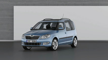 Skoda Roomster Facelift first photo - 24.02.2010