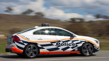 Australian police testing a Polestar tuned Volvo S60