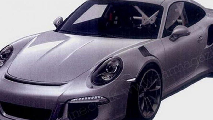 2015 Porsche 911 GT3 RS spied testing on the Nurburgring [video]