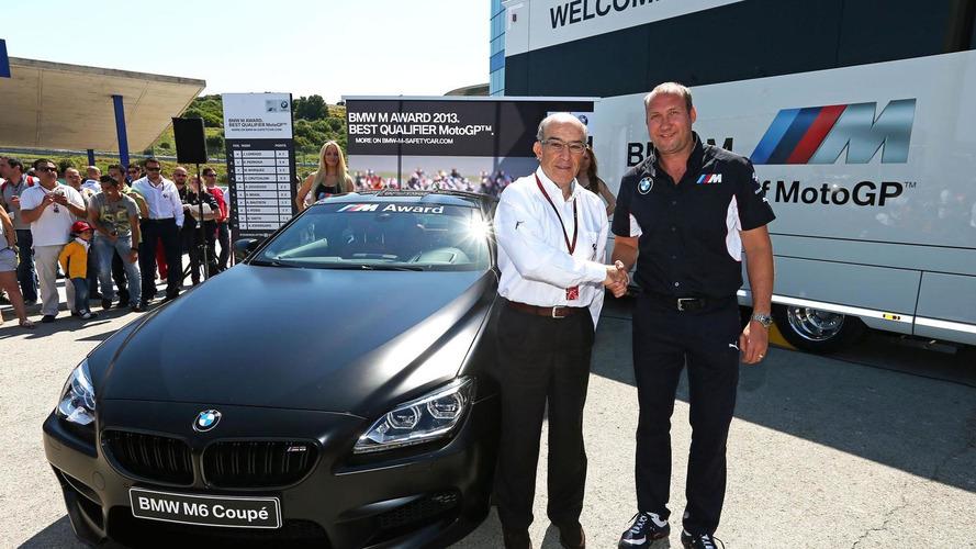 Bespoke BMW M6 unveiled for best MotoGP qualifier