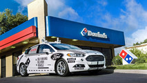 Domino's Pizza Autonomous Ford Fusion