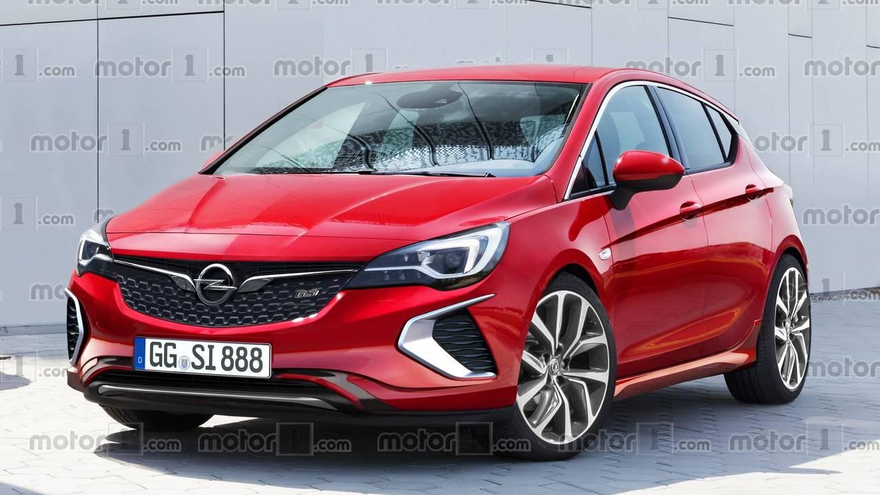 2018 Opel Astra GSi render