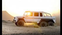 0 Mercedes G63 AMG 6x6: è ora di aggredire le dune