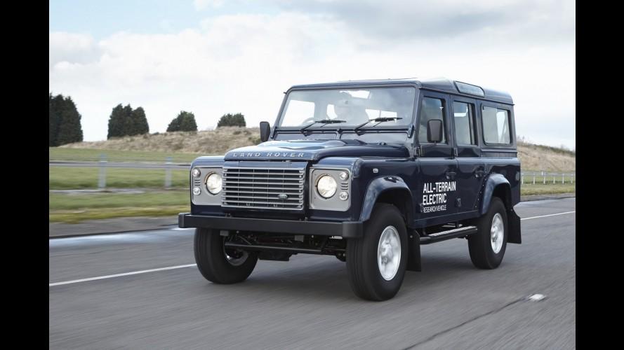 Land Rover mostrará versão elétrica do Defender em Genebra