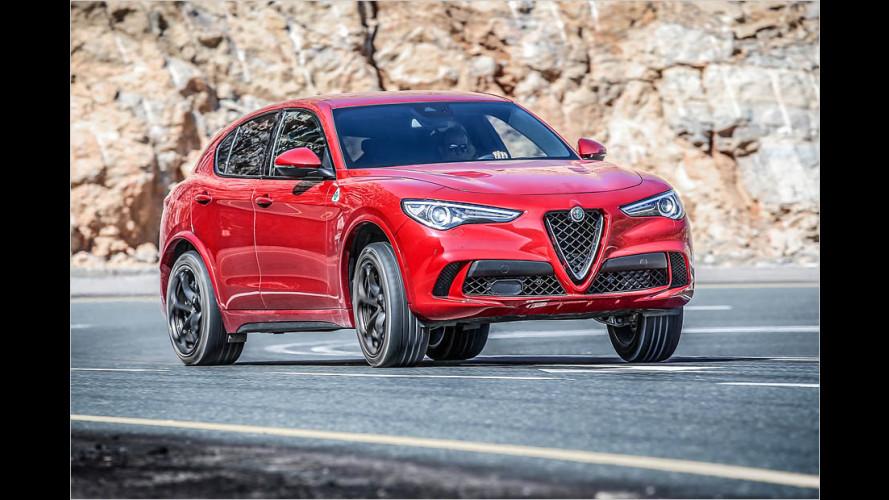 Test Alfa Romeo Stelvio Quadrifoglio