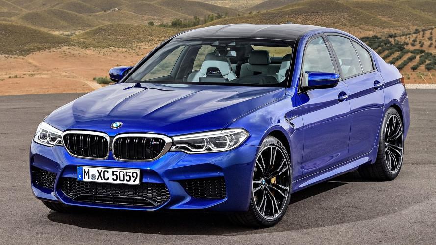 Nuova BMW M5,  trazione posteriore o integrale a scelta